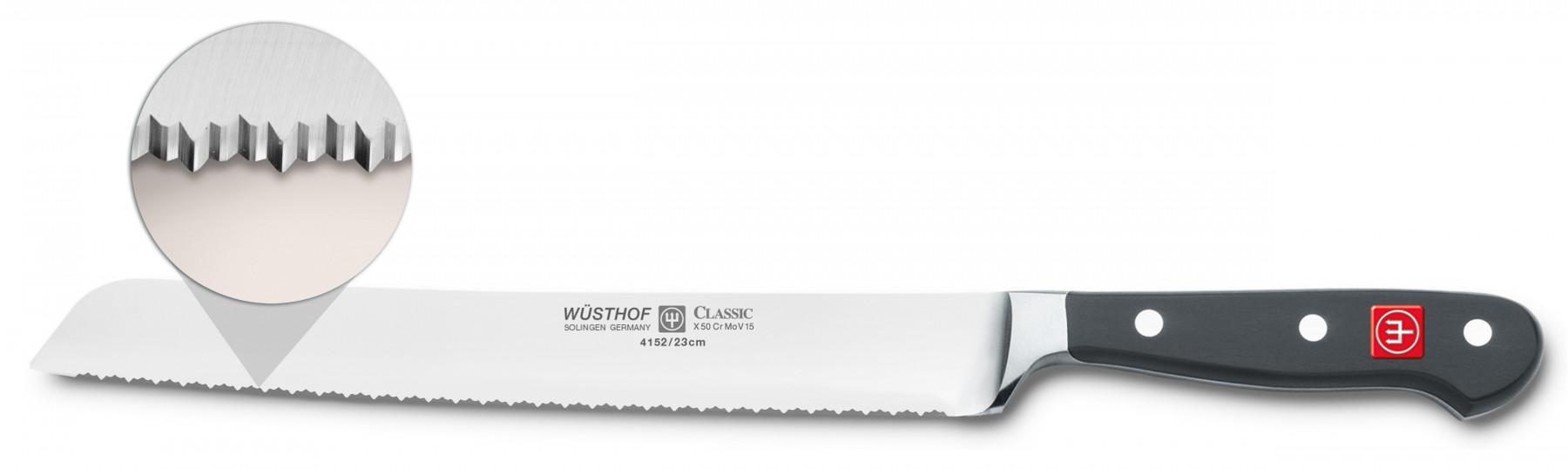 Wüsthof Dreizack Classic Brotmesser Präzisions-Doppelwelle