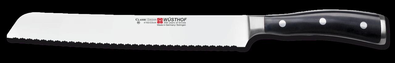 Wüsthof Dreizack Classic Ikon Brotmesser Präzisions-Doppelwelle
