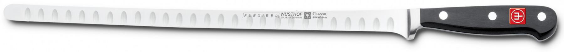 Wüsthof Dreizack Classic Lachsmesser mit Kullenschliff 32cm