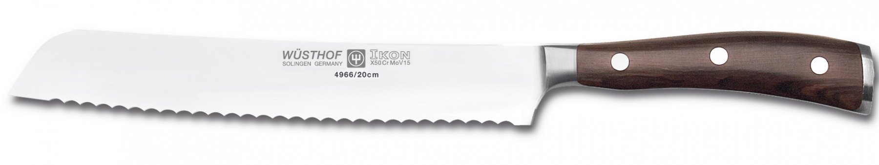 Wüsthof Dreizack Ikon Brotmesser 20cm