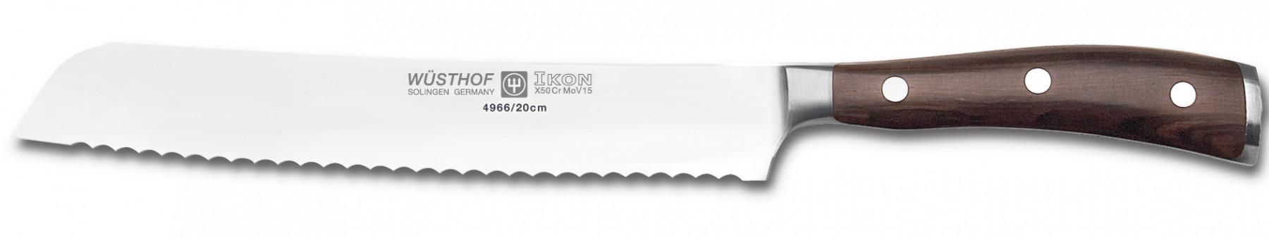 Wüsthof Dreizack Ikon Messerblock 10tlg. Brotmesser