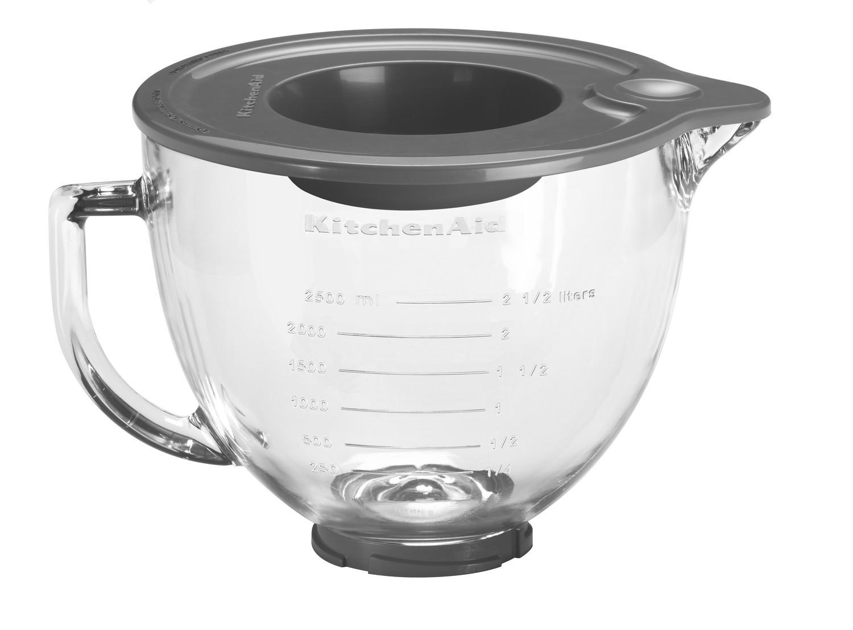 KitchenAid Klar-Glasschüssel mit Deckel