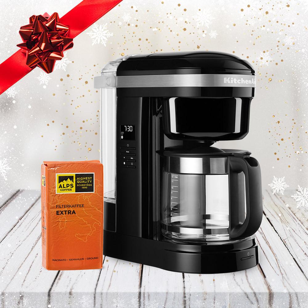 KitchenAid Kaffeemaschine 1,7 DRIP Onyx Schwarz 5KCM1208EOB