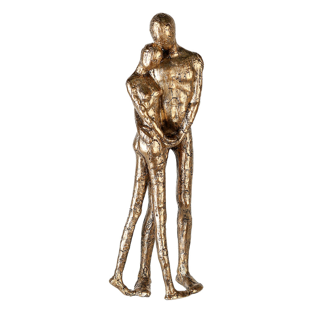 Casablanca Figur Skulptur Gold Couple