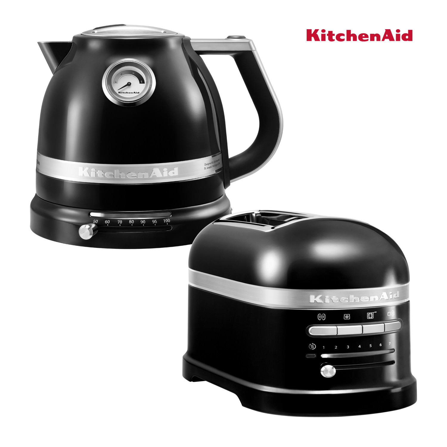 KitchenAid Artisan Wasserkocher + Toaster