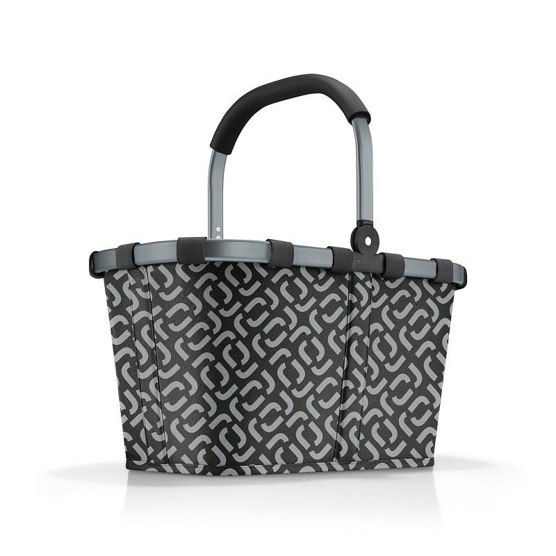 reisenthel Carrybag Einkaufskorb 22l BK7054 frame signature black