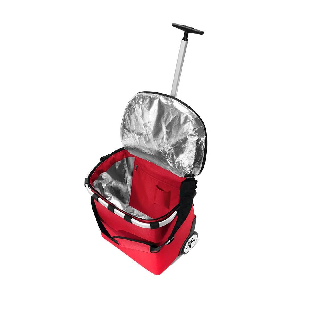 reisenthel® carrycruiser 40l iso rot mit Tragegurt