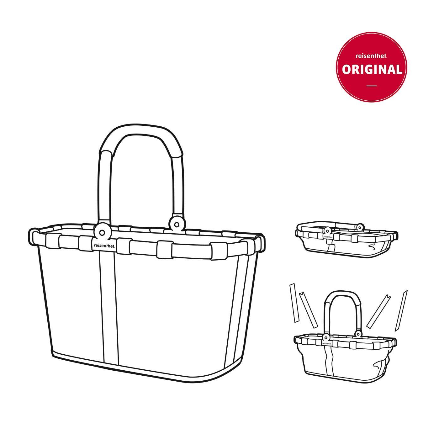 reisenthel® Carrybag Einkaufskorb 22l BK3035 DARK RUBY