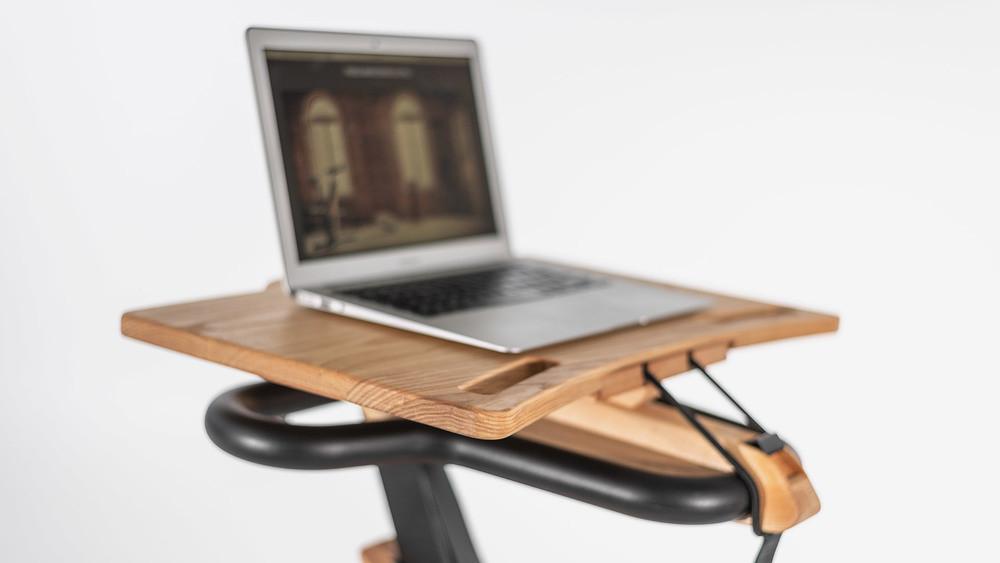NOHrD Laptop Auflage Eiche für das NOHrD Bike ,22.214, 4260263015845