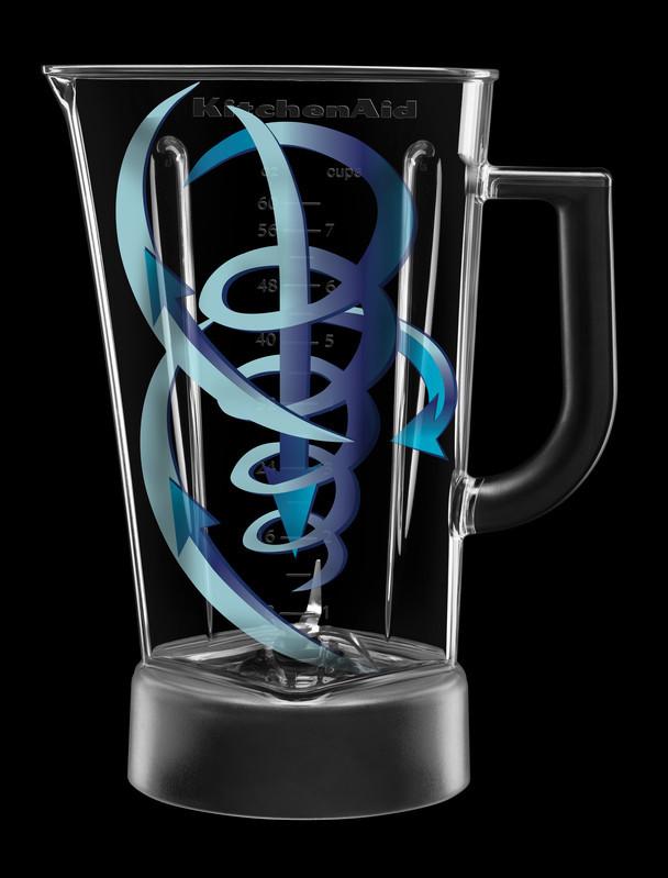 KitchenAid Rauten-Standmixer Blue Velvet