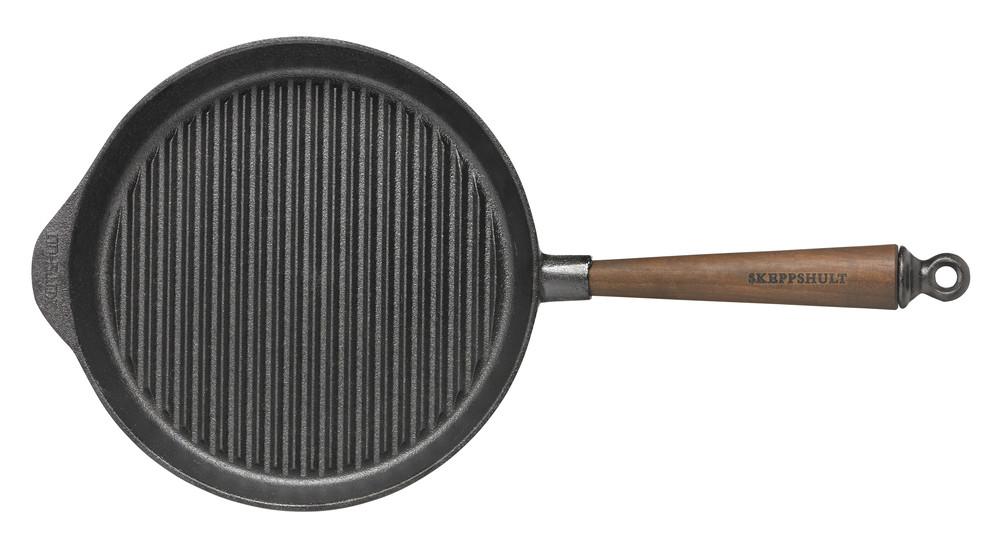 Skeppshult Walnuss Grillpfanne Gusseisen 28 cm , 0028V, 7317930028060