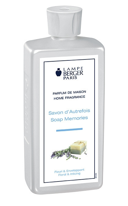 Lampe Berger Parfum 500ml Savon D'Autrefois | Soap Memories