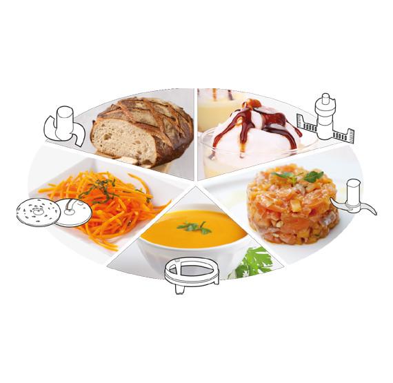 Funktionsvielfalt Küchenmaschine Magimix Compact 3200 XL