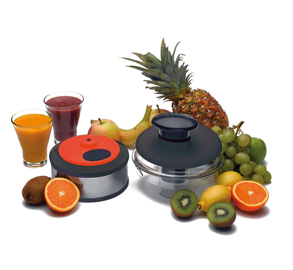 Saft-/Smoothie-Zentrifuge mit Obst