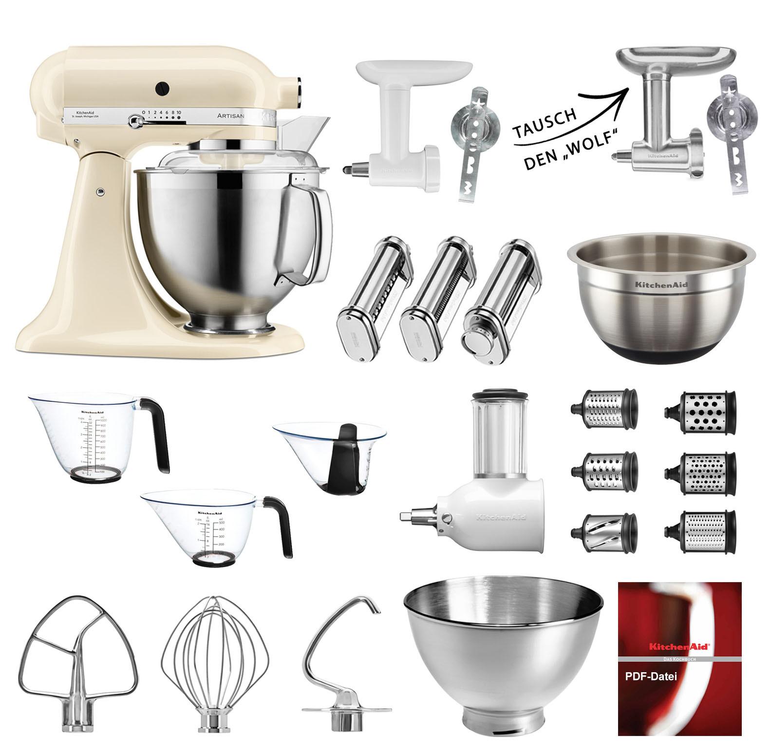 5KSM185PSEAC Mega-Paket Artisan Küchenmaschine