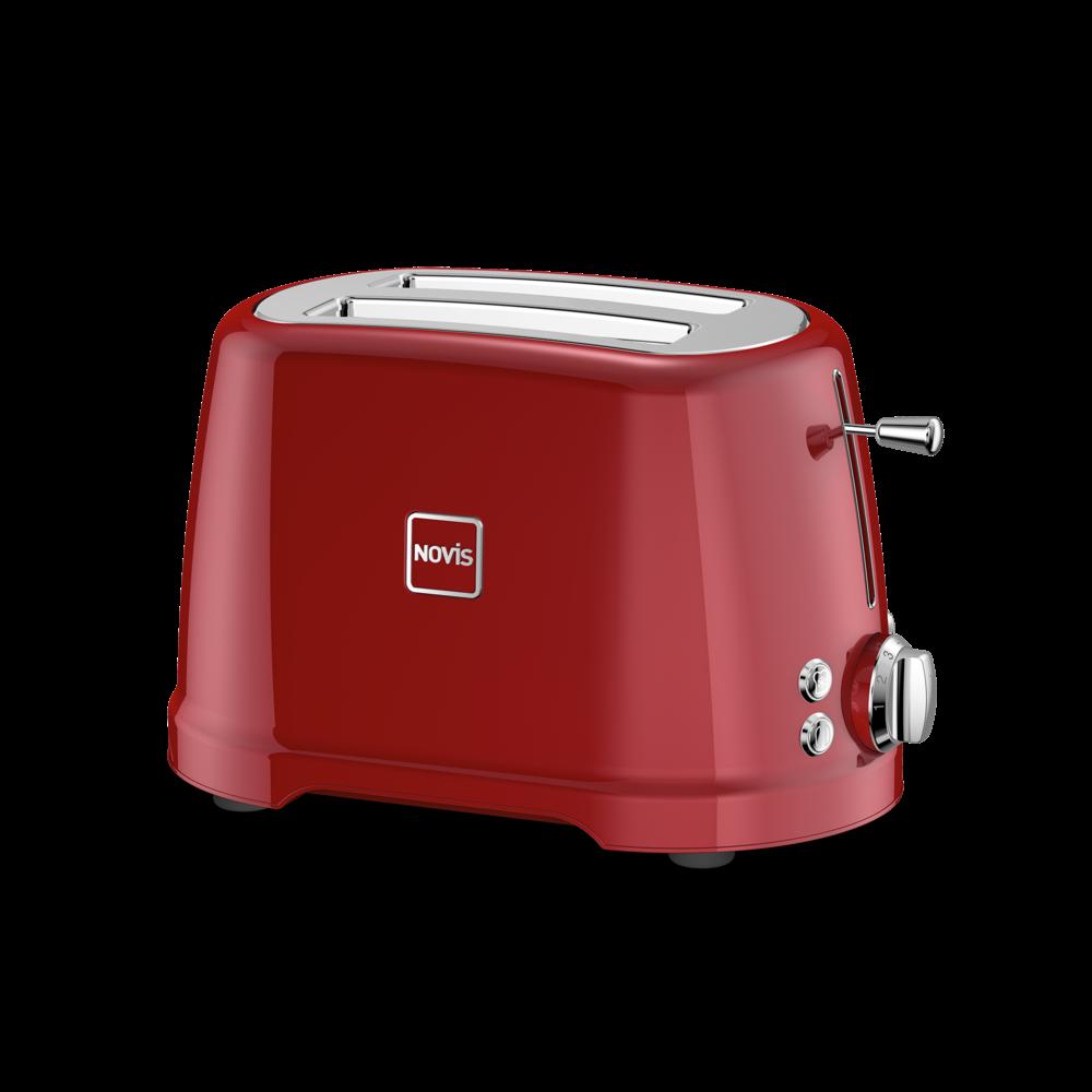 NOVIS Toaster T2 rot, 6115.02.20, 7640128133902