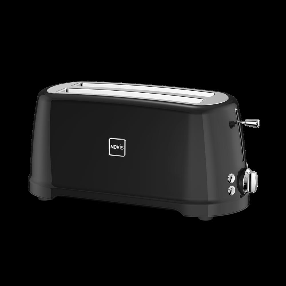 NOVIS Toaster T2 schwarz, 6116.03.20, 7640128133995, schwarz, Iconic Line