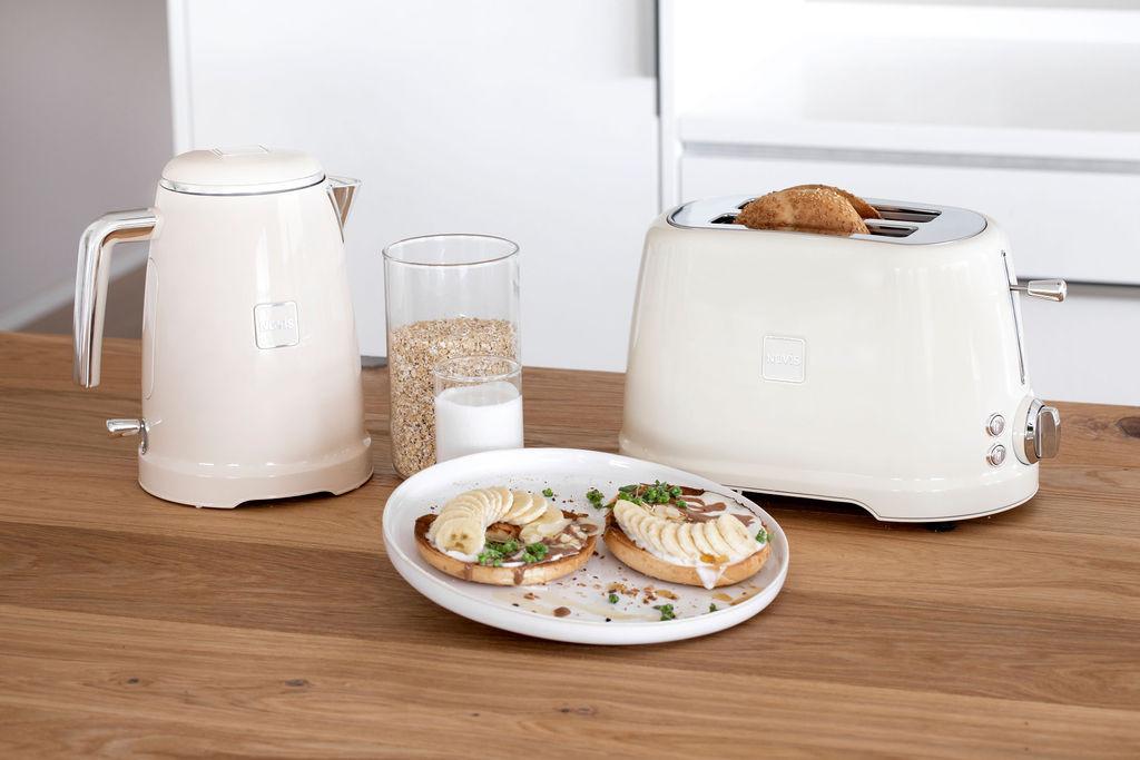 NOVIS Toaster T2 creme, 6115.09.20, 7640128133926