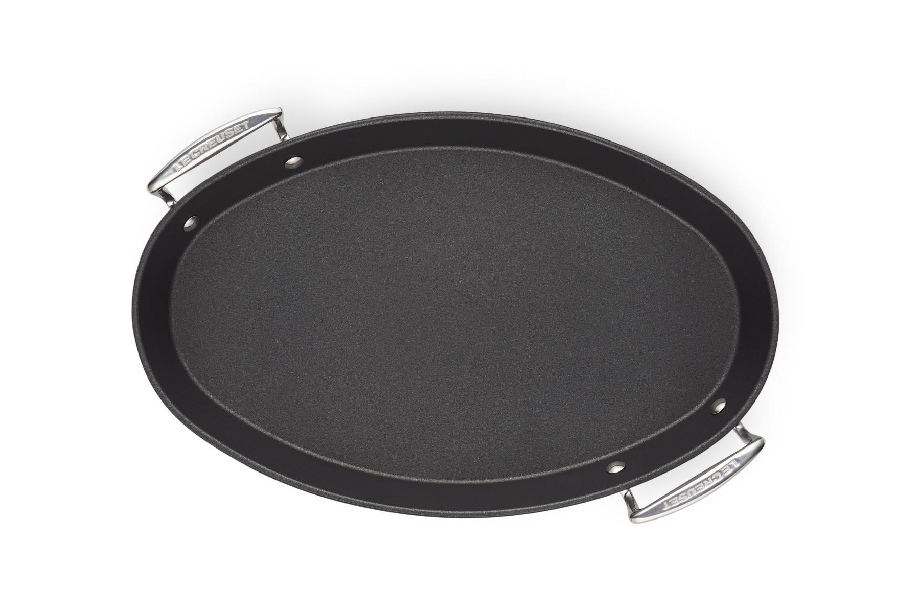Le Creuset Aluminium-Ovale Pfanne, antihaft