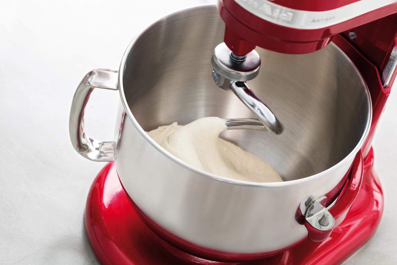 KitchenAid Ersatz-Knethaken für Küchenmaschine mit Schüsselheber