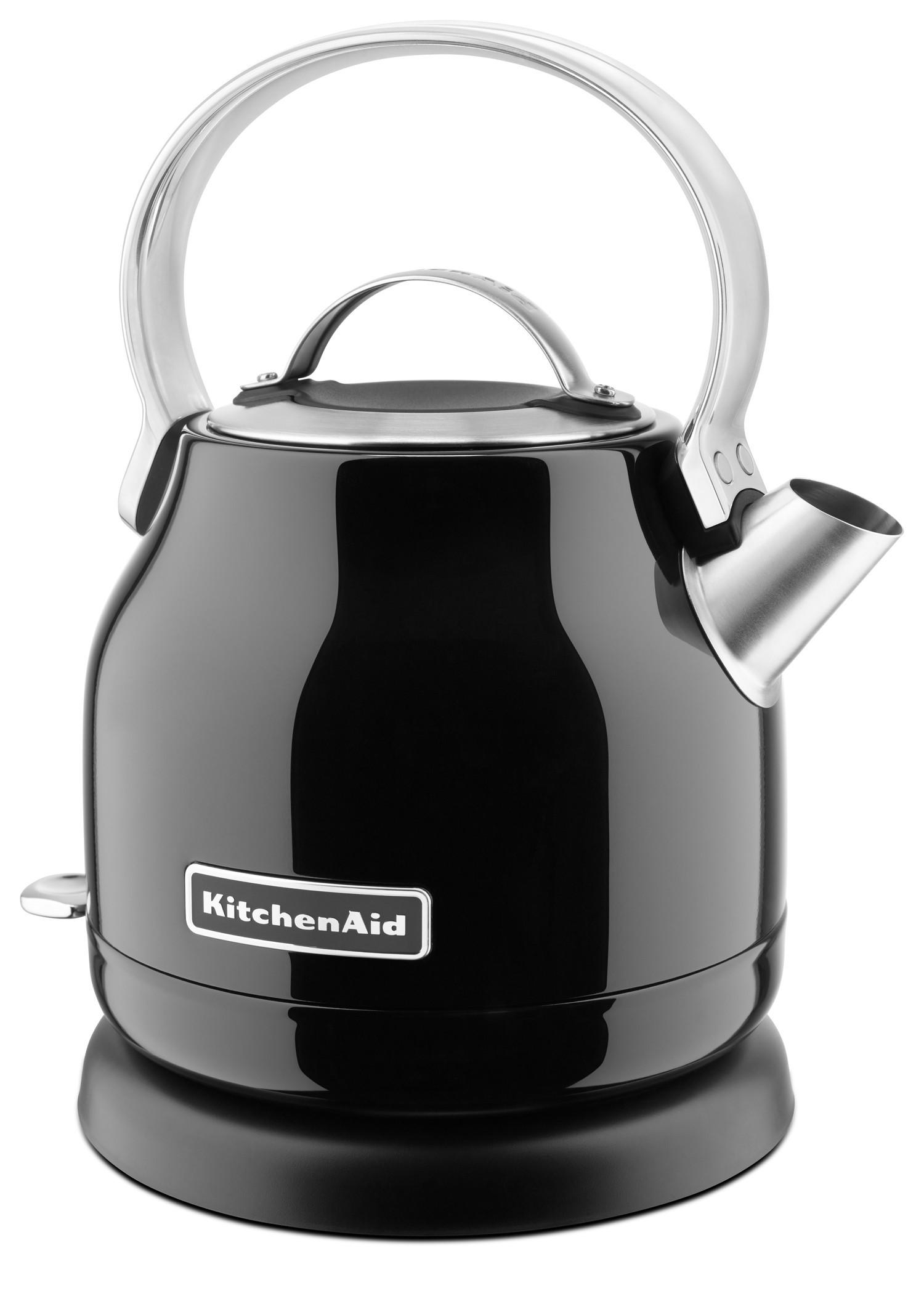 KitchenAid Kessel-Wasserkocher 1,25l onyxschwarz