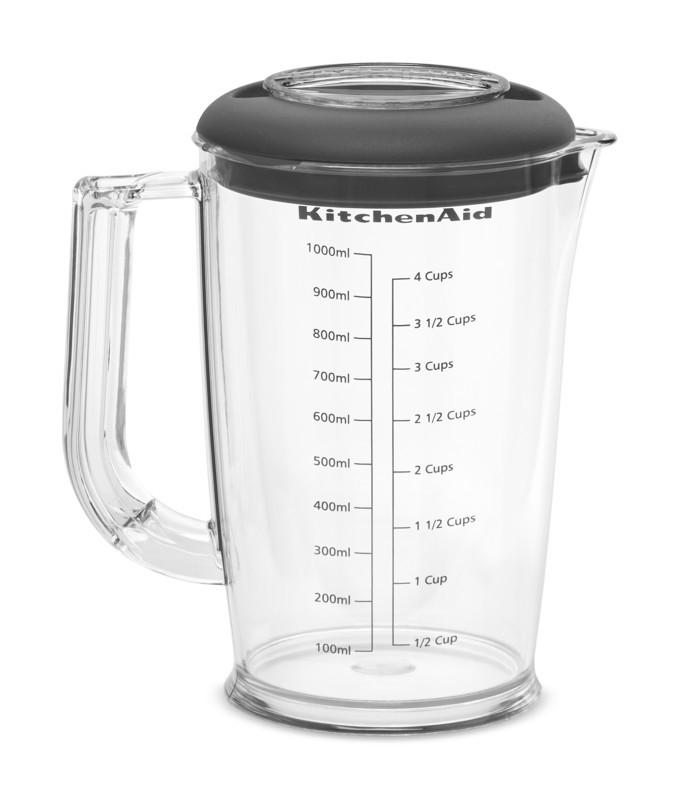 KitchenAid Stabmixer-Set creme 5KHBV83EAC