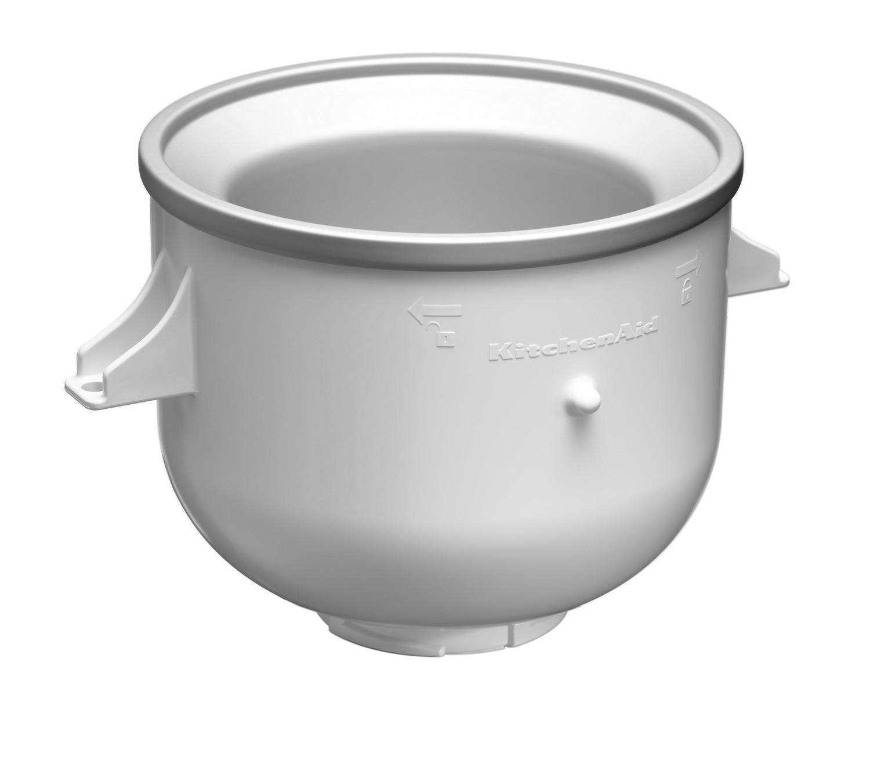 Eisbereiter + KitchenAid Artisan Küchenmaschine Mega-Paket medallionsilber