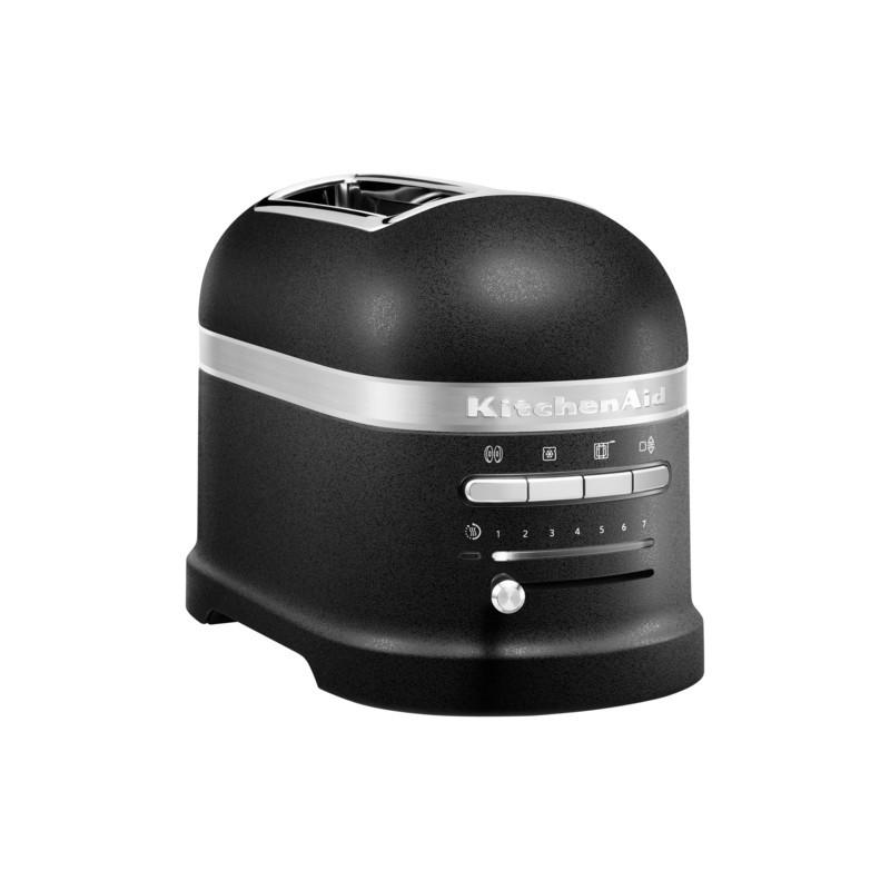 KitchenAid Küchenmaschine 185PS Sonder-Paket Gusseisen Schwarz Toaster