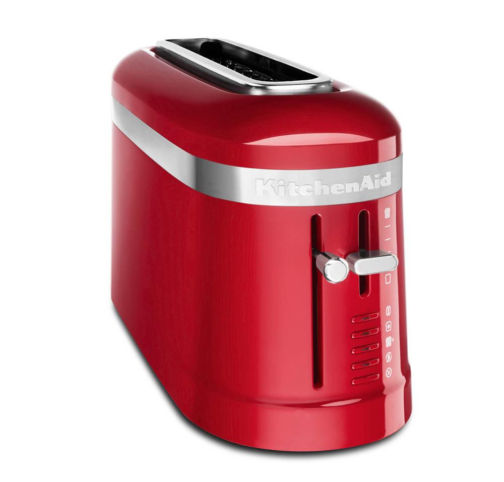 KitchenAid Loft 2-Slice Design 1-Langschlitz-Toaster empirerot