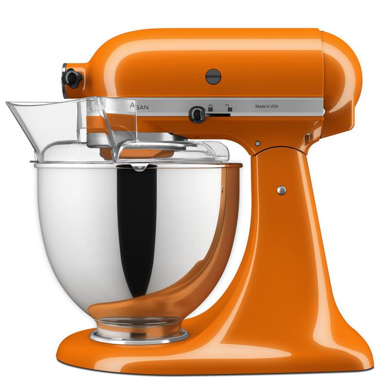 KitchenAid Küchenmaschine 175PS Mega-Paket honey