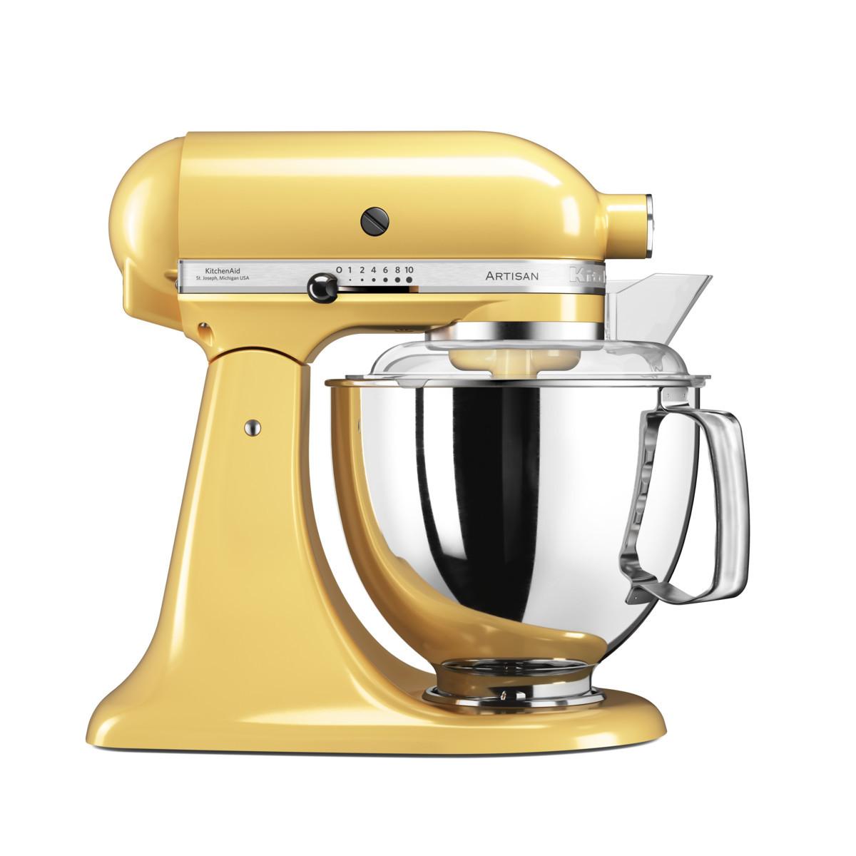 KitchenAid Artisan Küchenmaschine 4,8l pastellgelb