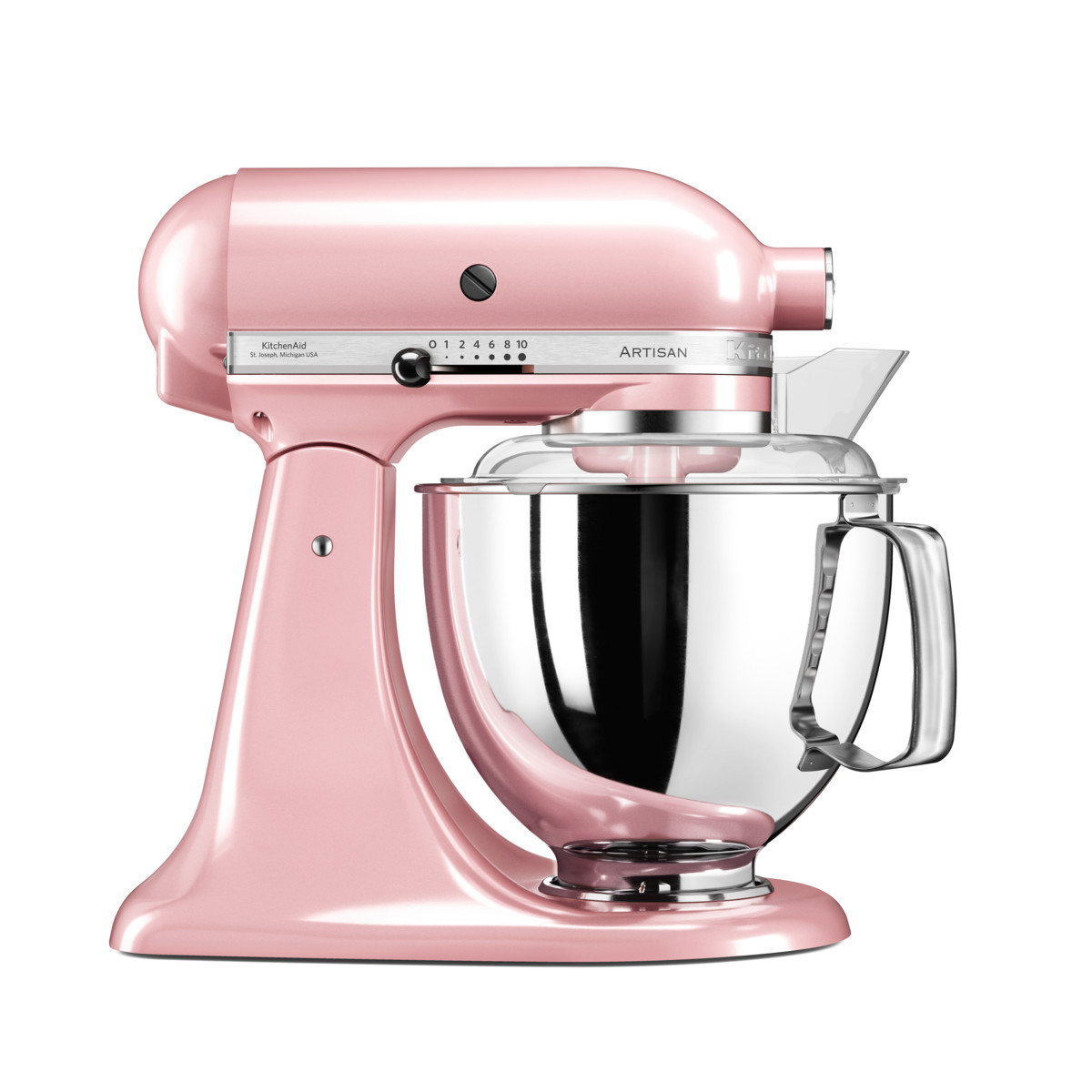 KitchenAid Küchenmaschine 175PS seidenpink/rosa beim Fachhändler in Rostock