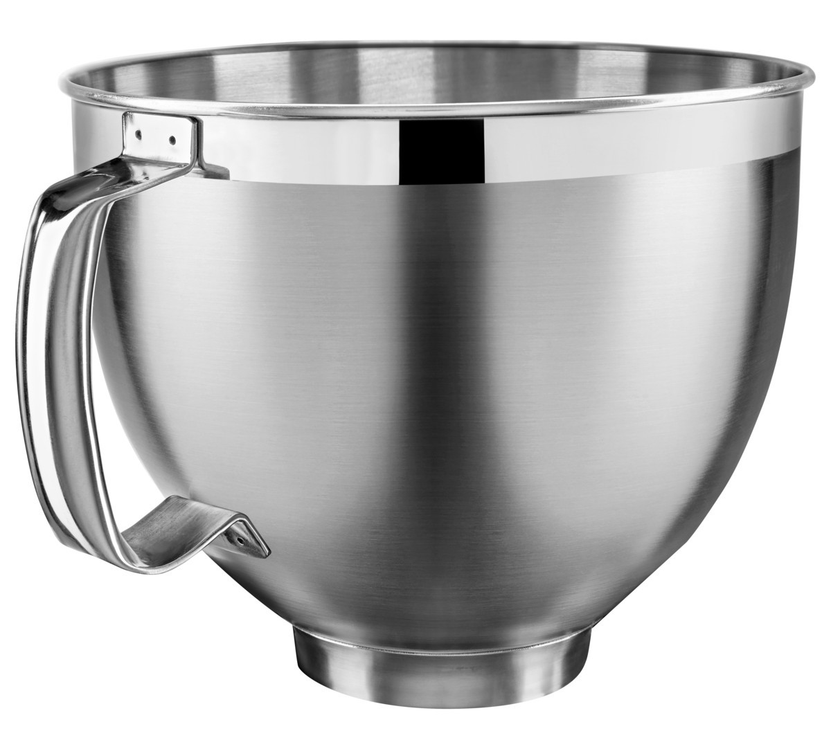 4,8-Liter Edelstahlschüssel mit Griff