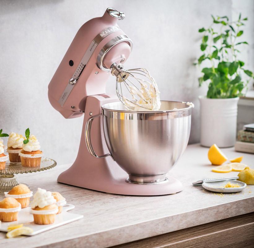 Küchenmaschine KitchenAid Artisan - Neue Farbe FEATHER PINK
