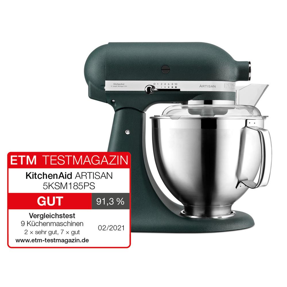 KitchenAid Küchenmaschine 185PS Palmenstrand - Testsieger