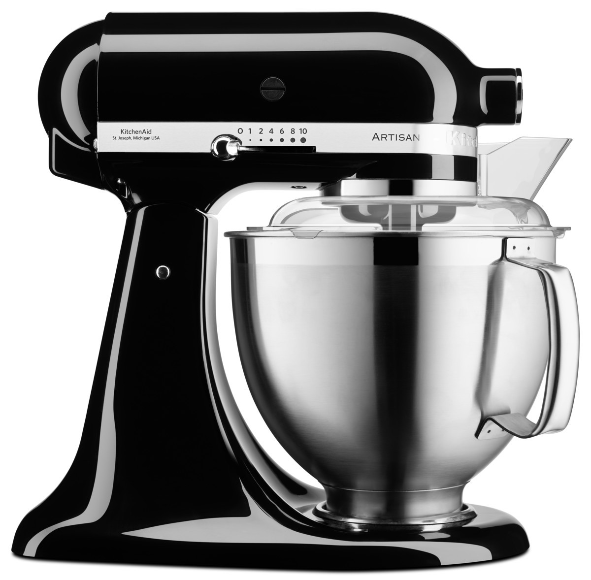 KitchenAid Küchenmaschine 5KSM185PS onyx schwarz Artisan