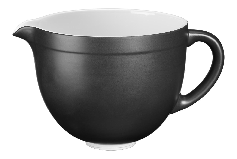 KitchenAid Keramikschüssel 4,8l Schwarz