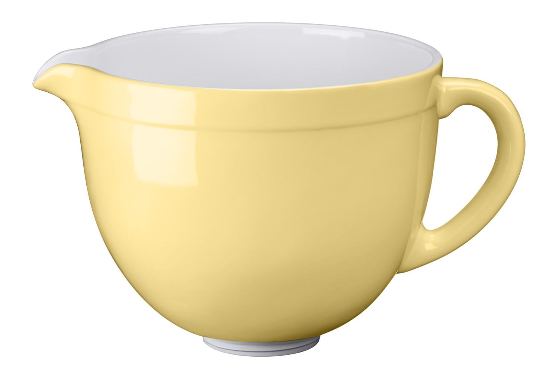 KitchenAid Keramikschüssel 4,8l Pastellgelb