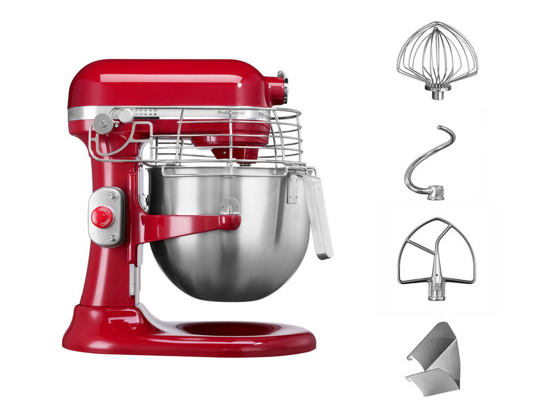 KitchenAid Artisan Küchenmaschine 6,9l PROFESSIONAL empirerot 5KSM7990XEER