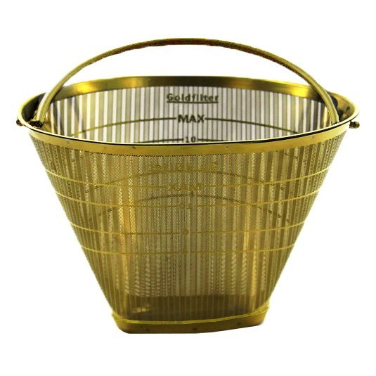 Moccamaster Goldfilter Dauerfilter Nr. 4, 85023, 40252150004430