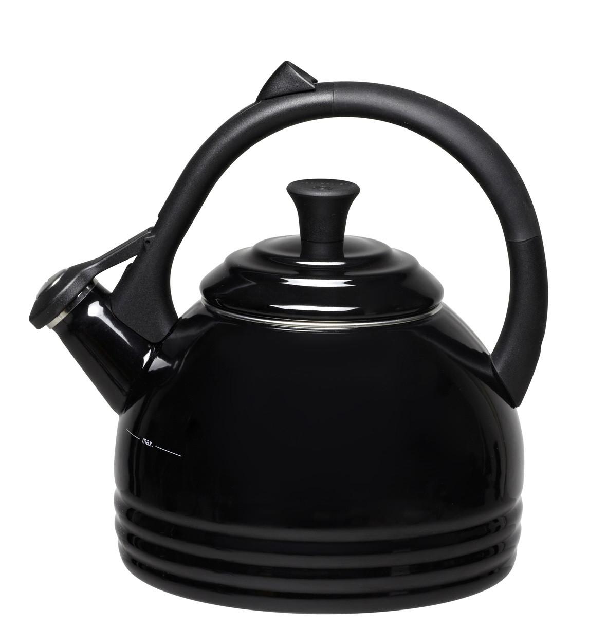 Le Creuset Wasserkessel Drop 1,6 l schwarz