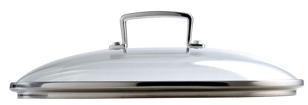 Le Creuset verstärkter Glasdeckel 30 cm für Bratpfannen