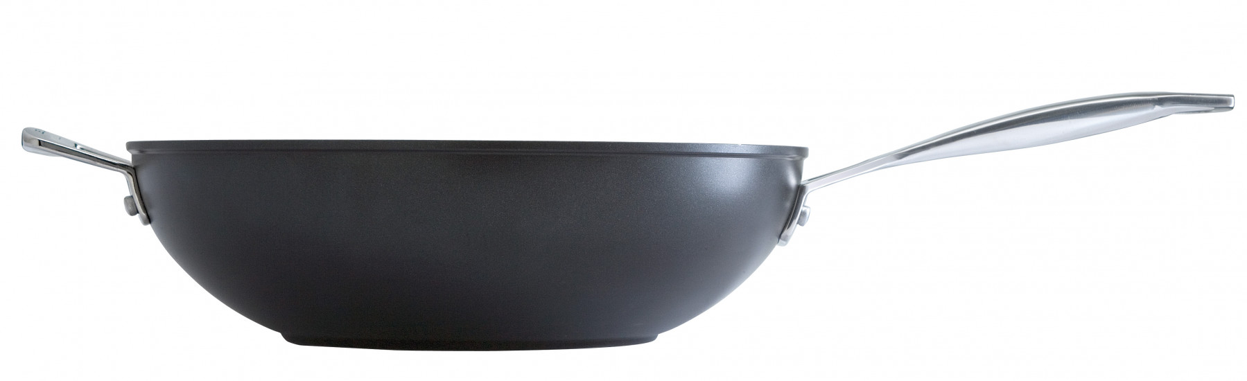 Le Creuset Aluminium-Wok-Pfanne 30 cm mit Gegengriff