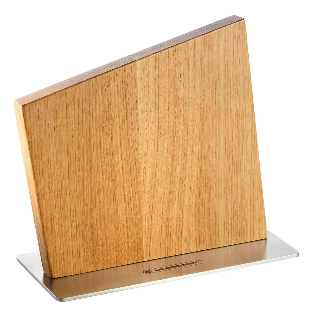 Le Creuset Messerblock magnetisch Eichenholz