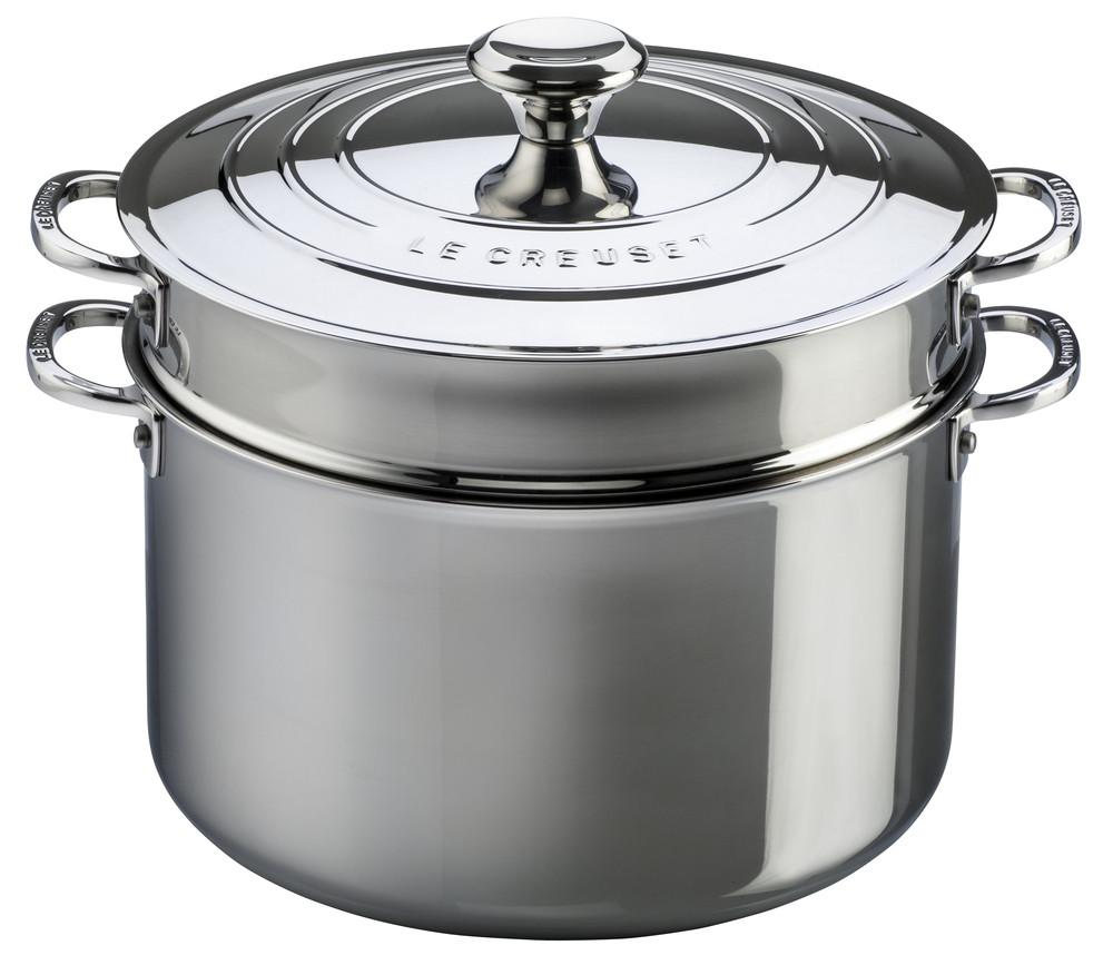 Le Creuset 3-ply Plus Pastatopf mit Einsatz 26 cm 96604926000000