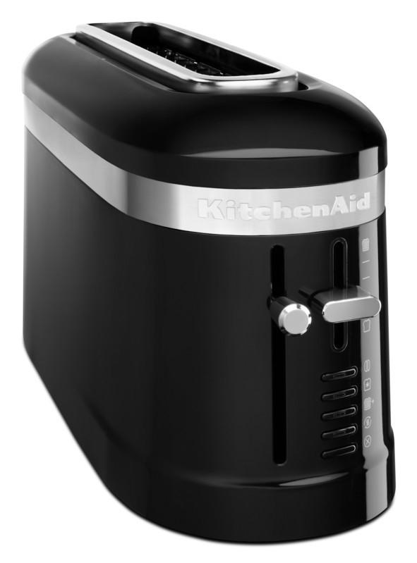 KitchenAid Loft 2-Slice Design 1-Langschlitz-Toaster schwarz