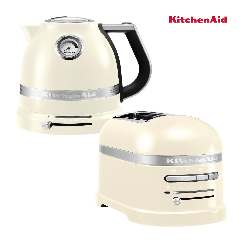 KitchenAid Artisan Wasserkocher + Toaster Mandel