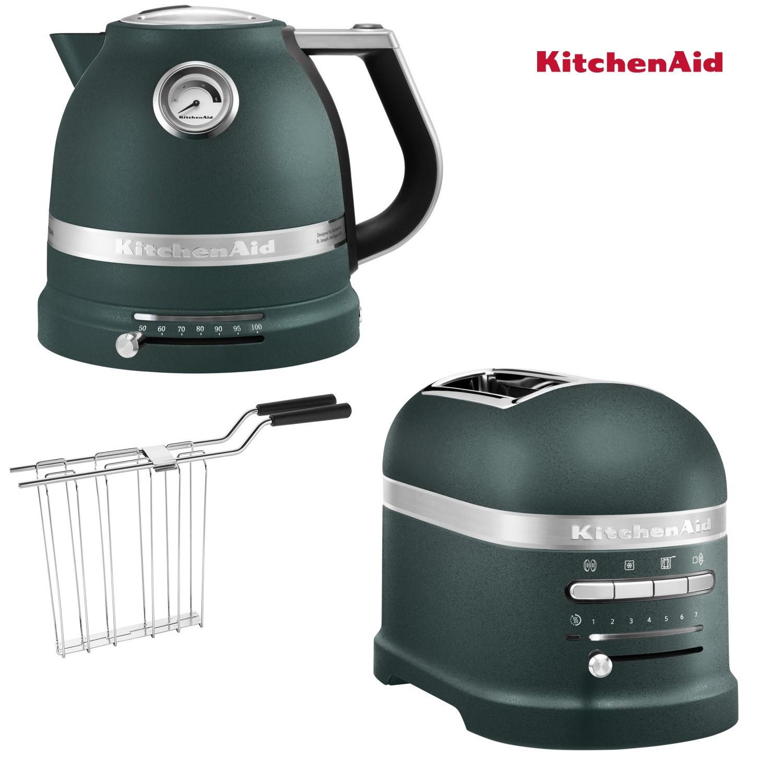 KitchenAid Artisan Wasserkocher + Toaster Palmenstrand