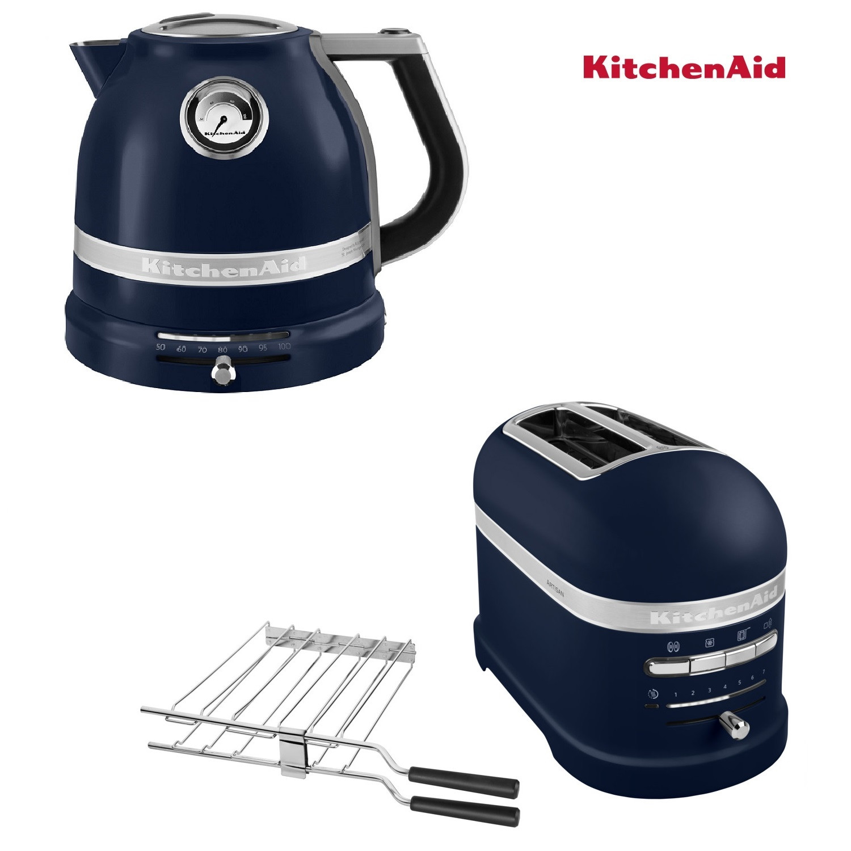 KitchenAid Artisan Wasserkocher + Toaster ink Blue