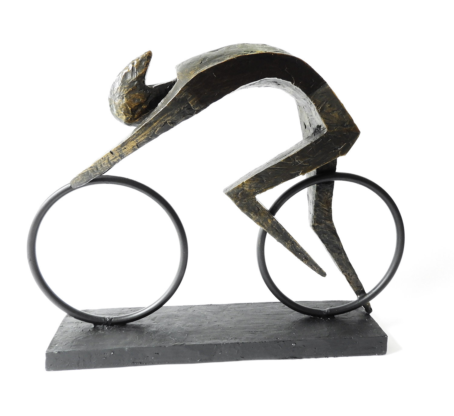 "Casablanca Design Skulptur ""Racer"" Bronze Finish"